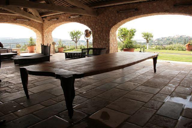 mesa para decoración para terrazas